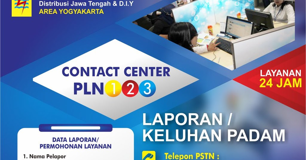 Call Center PLN Bebas Pulsa 24 Jam Non Stop